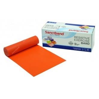 Sanctband 5,5 Metre Pilates Lastiği Orange Hafif Ex-Band