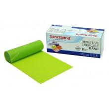 Sanctband 5,5 Metre Pilates Lastiği Lime Green Orta Ex-Band