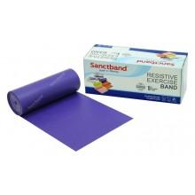 Sanctband 5,5 Metre Pilates Lastiği Plum Çok Sert Ex-Band