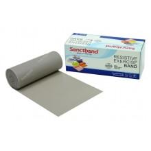 Sanctband 5,5 Metre Pilates Lastiği Gray Ekstra Sert Ex-Band