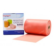 Sanctband 46 Metre Pilates Lastiği Peach Çok Hafif Ex-Band