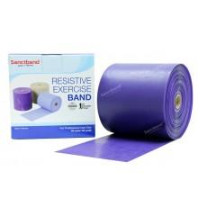 Sanctband 46 Metre Pilates Lastiği Plum Çok Sert Ex-Band