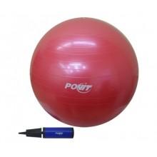 Povit 55 cm Pilates Topu Kırmızı Renk Gym Ball