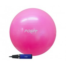 Povit 65 cm Pilates Topu Pembe Renk Gym Ball