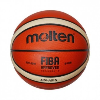 Molten GM5X Basketbol Topu FIBA Onaylı