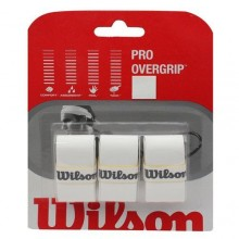 Wilson Pro Over Grip Beyaz 3`lü Paket
