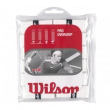 Wilson Pro Over Grip Beyaz 12`li Paket