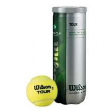Wilson 3`lü Tour Davis Cup Tenis Topu