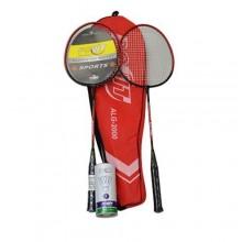 Povit ALG2000 Badminton Raketi 2 Raket 3 Top Çift Parça