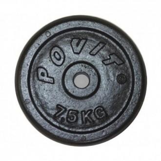 Povit 7,5 Kg Döküm Plaka Çift