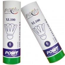 Povit XL-100 6`lı Badmington Topu Mantar Kafa Plastik