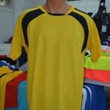 Sarı-Siyah Hazır Halı Saha Forması Tek Üst 6 Adet