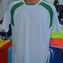 Beyaz - Yeşil Hazır Halı Saha Forması Tek Üst 6 Adet