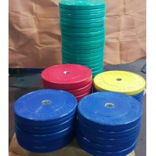 Gymholix 10 Kg Bumper Plate Elit Olimpik Plaka Yeşil Renk