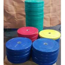Gymholix 15 Kg Bumper Plate Elit Olimpik Plaka Sarı Renk