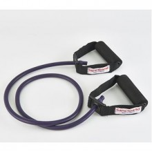 Sanctband Tubing with Handles Plum Ekstra Sert Direnç Lastiği